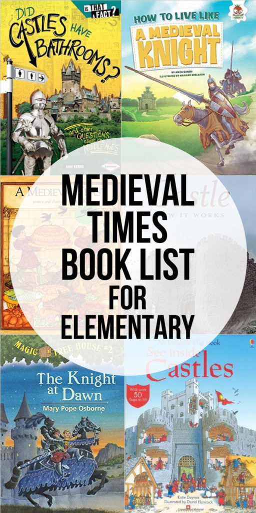 The Best Elementary Medieval Times Books