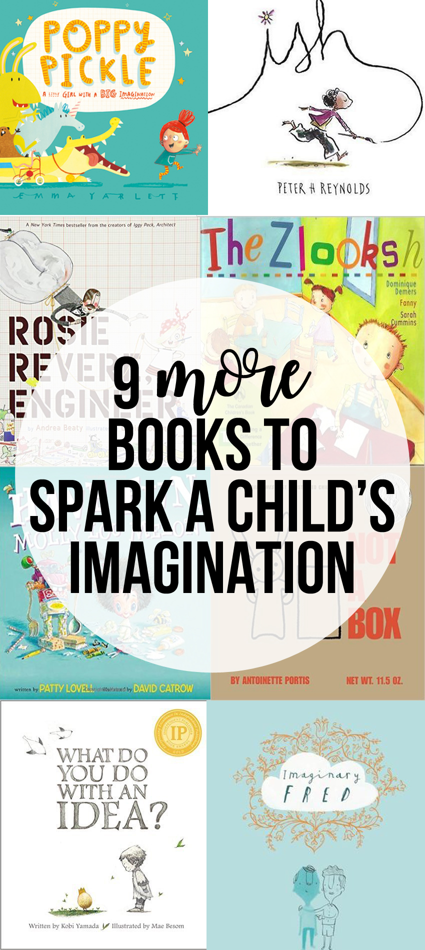 More of the Best Books to Spark a Child's Imagination