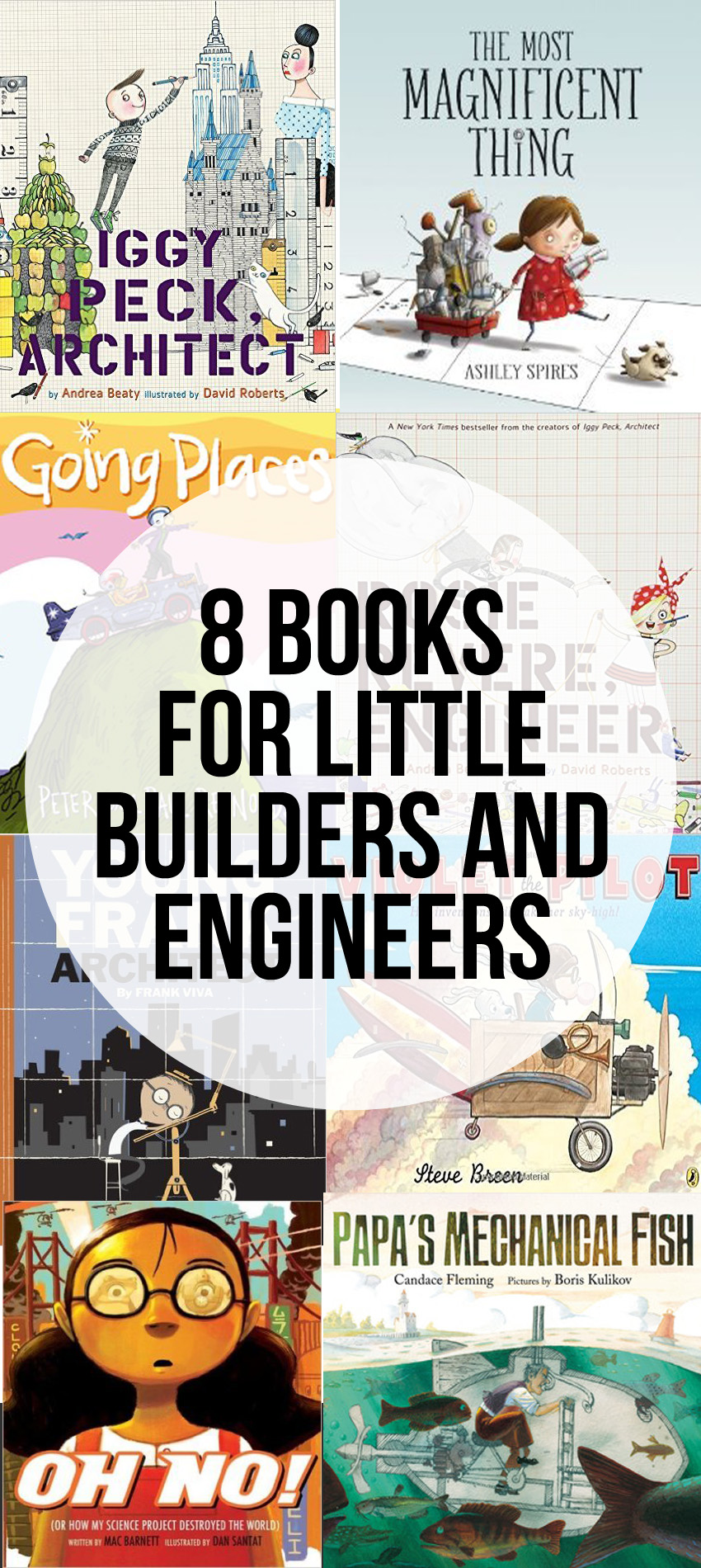 Picture Books for Little Builders and Future Engineers