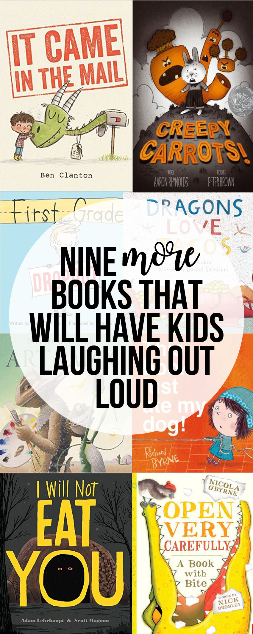 More Funny Picture Books That Will Have Kids Laughing Out Loud