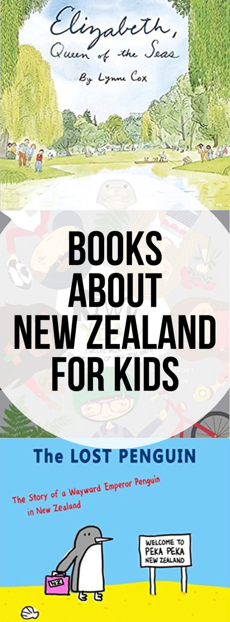 Picture Books About New Zealand