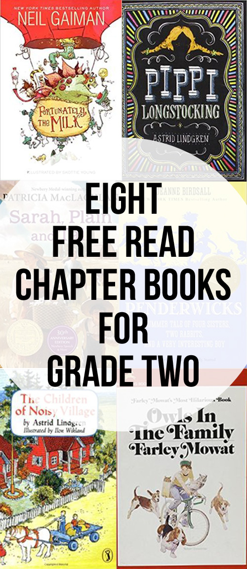 The Best Chapter Books, Great for Free Reading for Grade Two